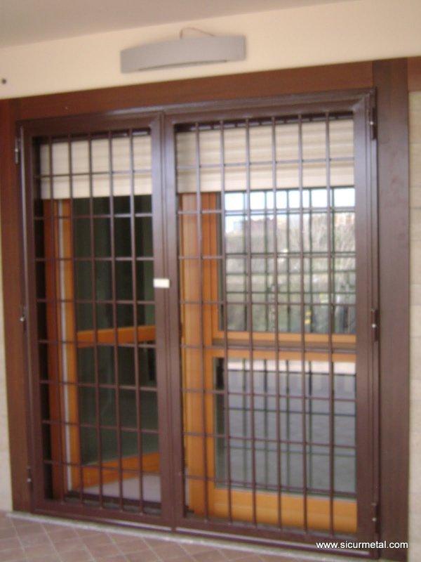 Grate con vetro blindato sicurmetal - Grate finestre prezzi ...