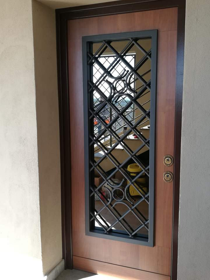 porte blindate con vetro roma